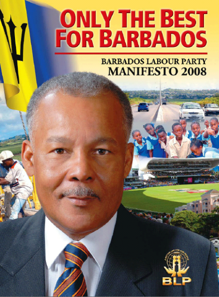 2008 BLP Manifesto - Only The Best For Barbados