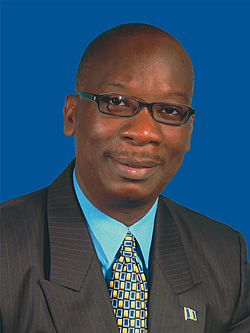 Ronald Jones, Minister of Education , former president of the BUT