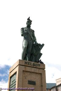 Nelson Statue Located In Heroes Square Barbados