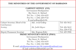 Click on image to access full Barbados Ministries Directory