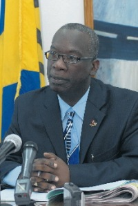 Hon Ronald Jones, Minister of Education