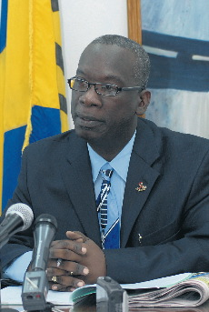 Hon Ronald Jones, Minister of Education