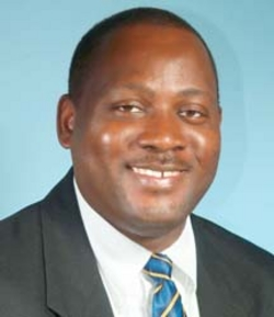 Donville Inniss - Minister of Commerce, and International Business going with the FLOW