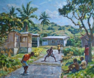Road Tennis a sport which is indigenous to Barbados