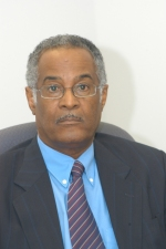 Former Chief Justice, Sir David Simmons