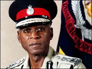 Former Commissioner of Police Darwin Dottin