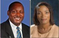 Donville Inniss (DLP)      Sandra Husbands (BLP)