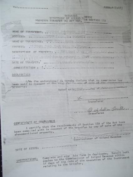 Department of Inland Revenue document