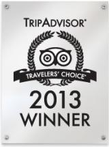 Peach & Quiet TripAdvisor Award 2013