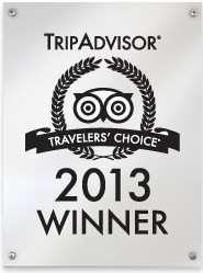 Peach & Quiet TripAdvisor Award 2013