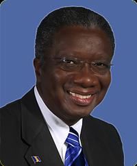 Prime Minister Freundel Stuart