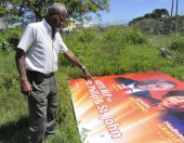 BLP billboard damaged - Photo credit: Nation Newspaper