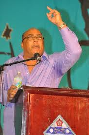 Dr. David Estwick, a key performer on the campaign platform for the DLP