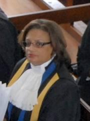 Former Court Registrar, Justice Maureen Crane-Scott