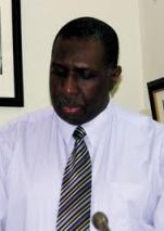 Hally Haynes, president of the Barbados cooperative Credit Union League
