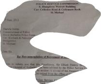 Letter sent to CoP - see links inserted blog