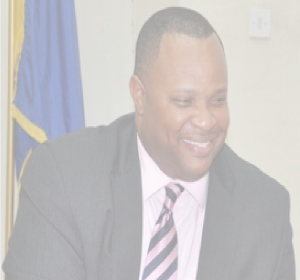 Minister of Finance Chris Sinckler meets the press