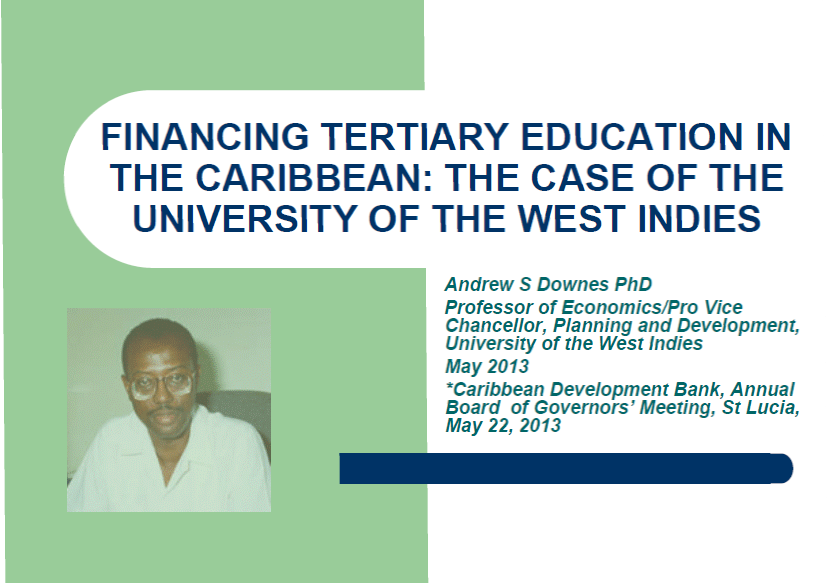 Financing tertiary education in the caribbean the case of for Case in stile west indie