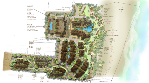 Artist rendering of Pure Beach Resort & Spa