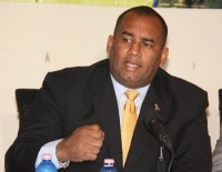 Minister of Tourism, Richard Sealy