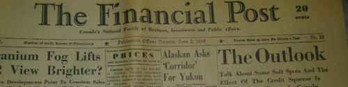 1956 Financial Post