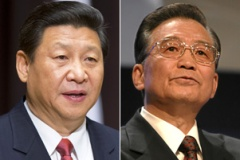 Xi Jinping and Wen Jiabao: relatives appear on the list.