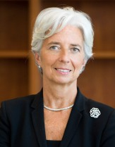 tine Lagarde, Managing Director, IMF