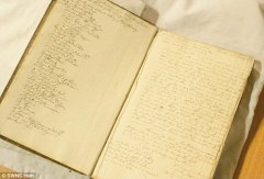 A wealthy slave merchant's 270-year-old notebook and business log (pictured) has revealed a chilling insight into the slave trade and attitudes to human trafficking - http://www.dailymail.co.uk/