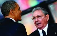 President Obama and Castro in history setting decision....