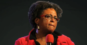 Mia Mottley, leader of the Opposition