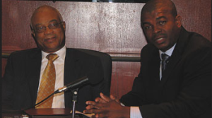 Leroy Parris (l) Terrence Thornhill (r)