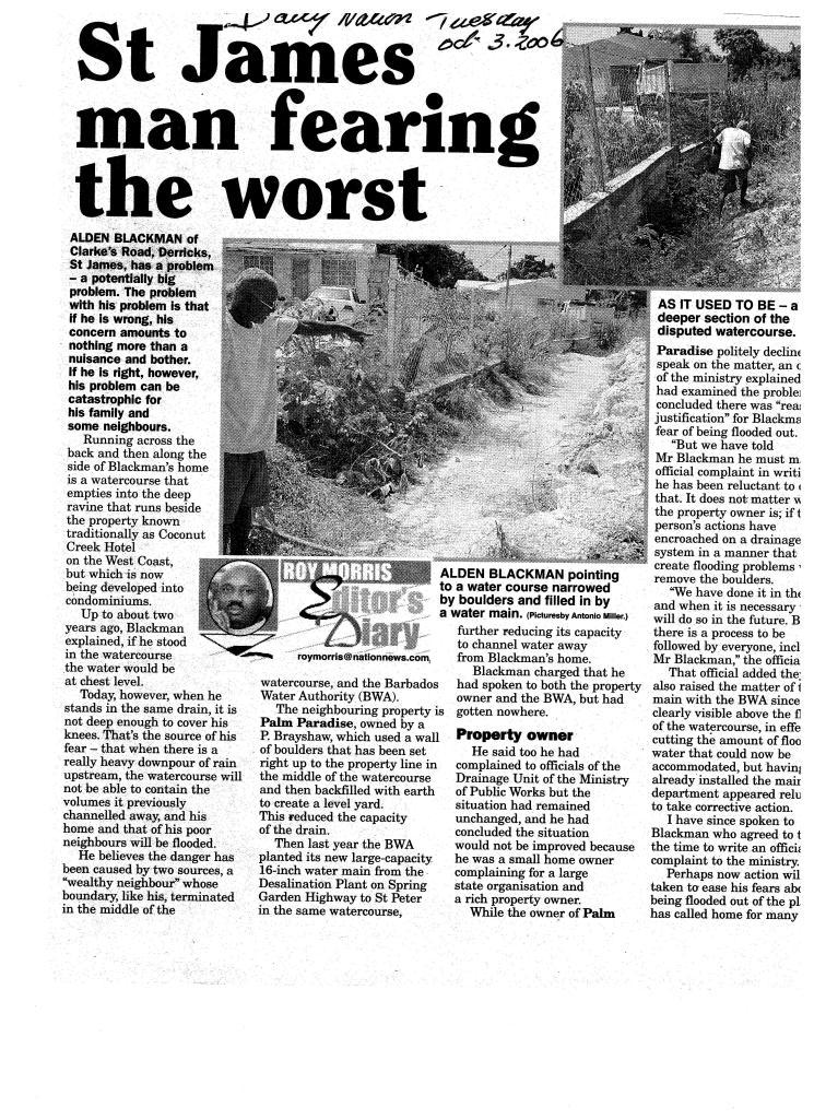 Clarke's Road Roy Morris article