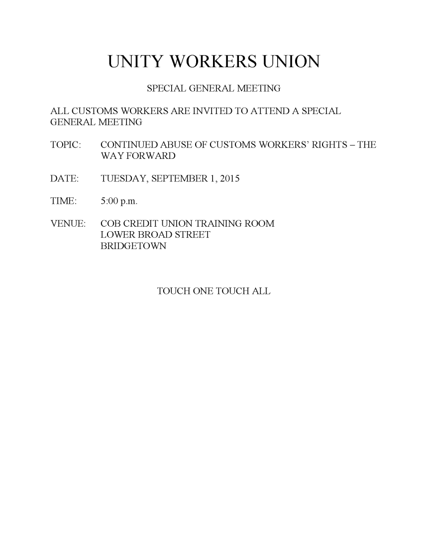 Customs Meeting September 1, 2015-1