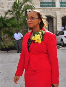 Dr. Maria Agard, expelled from the BLP in the Ch Ch West constituency