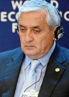 Former President Otto Pérez Molina of Guatemala