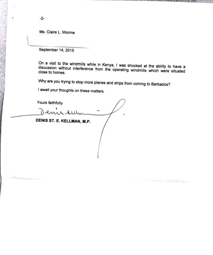 Denis Kellman responds to Claire Worme (2)