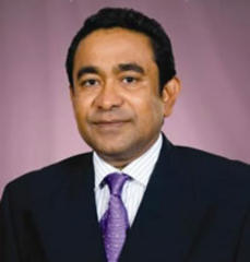 Abdulla Yameen, of the Maldives