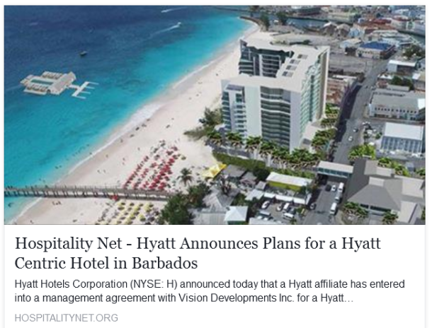 Click image to read Hyatt's PR report