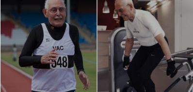 At 96 years old, Charles Eugster is a champion sprinter in his age group and regularly works out with weights to maintain a body closer to that of a 30-year-old