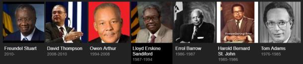 barbados-primeministers