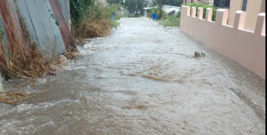 Flooding in Clarke's Road