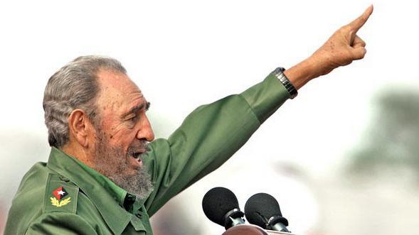 The late Fidel Castro