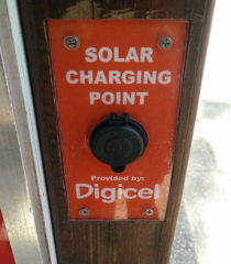Digicel charging point