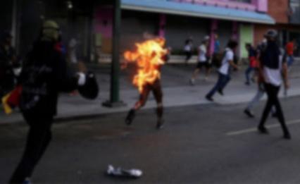Afro-Venezuelan-- ORLANDO FIGUERA -- burned alive