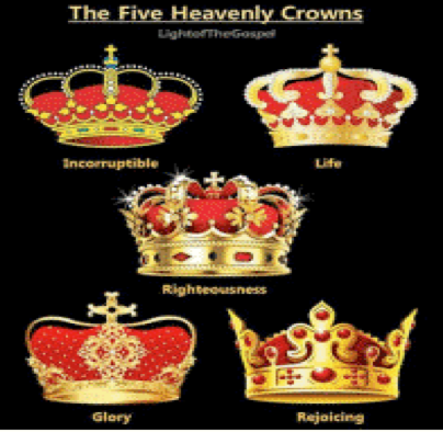 https://www.google.co.uk/url?sa=i&url=http%3A%2F%2Fsherryclarkministry.com%2Ffive-heavenly-crowns%2F&psig=AOvVaw1cBfORXujlJcERGpCdrE3w&ust=1597657162105000&source=images&cd=vfe&ved=0CAIQjRxqFwoTCOCupfC2n-sCFQAAAAAdAAAAABAD
